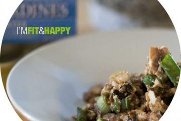 Sardine Salad | I'm Fit & Happy