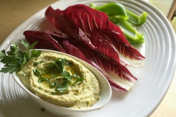 Garlic and Parsley Humus | Im fit and Happy